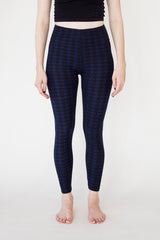 Leggings Blue with a Pattern | Leggings Bleu avec un Motif - Boutique C.H.I.L. ( boutiquechil.com )