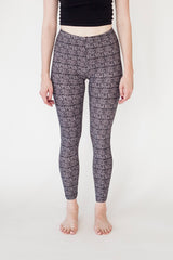 Leggings White with a Pattern | Leggings Blanc avec un Motif