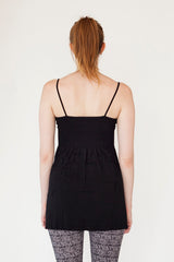 Long Black Tank Top   | - Boutique C.H.I.L. ( boutiquechil.com )