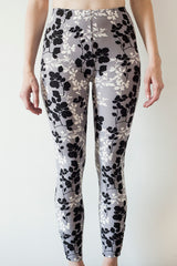 Leggings Grey Patterned | Leggings Motif Gris
