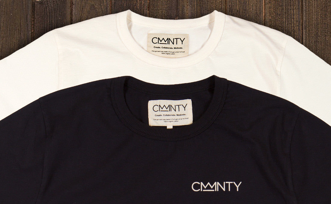 the making of a cmmnty t shirt