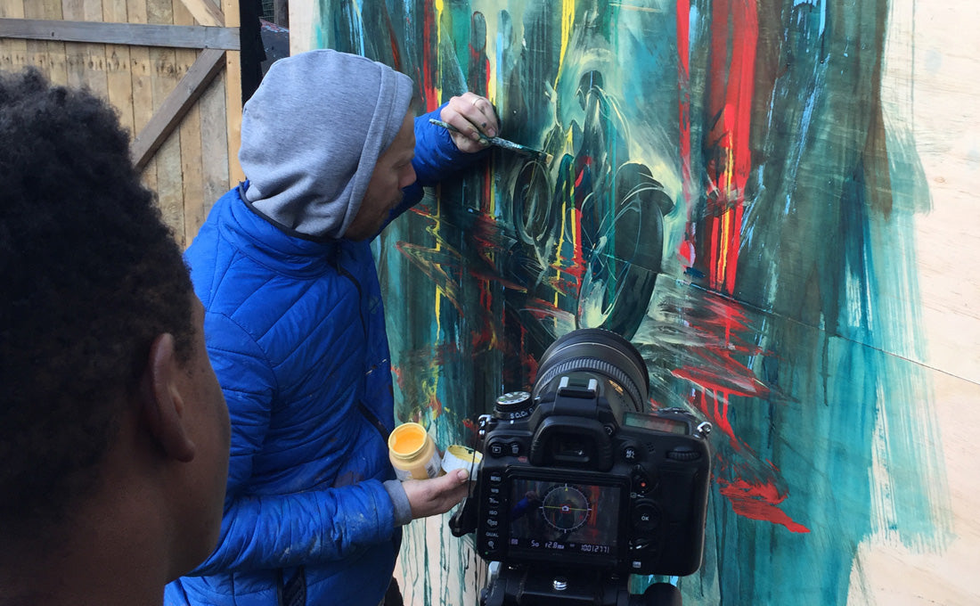 Will Barras Live Painting Interview