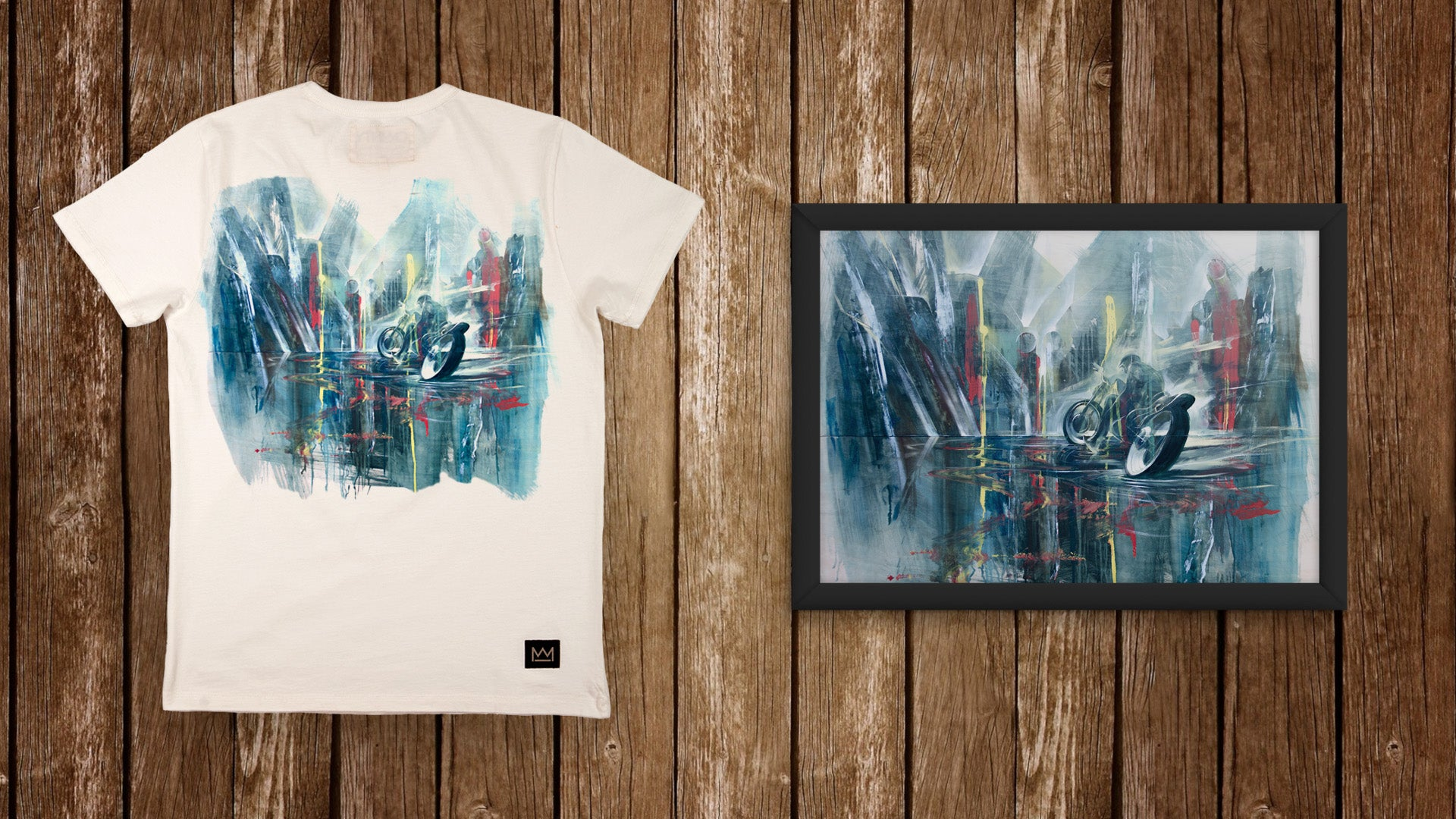 Will Barras Exclusive T-Shirt and Print