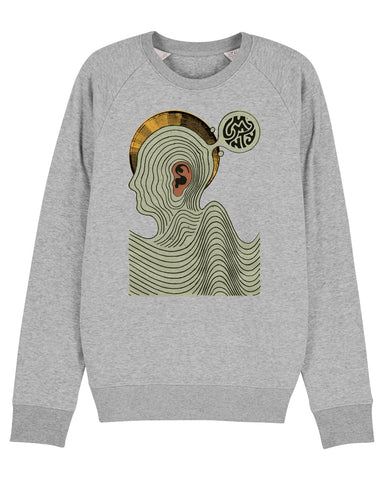 Daren Newman 'Ear Worm' Mens Sweatshirt