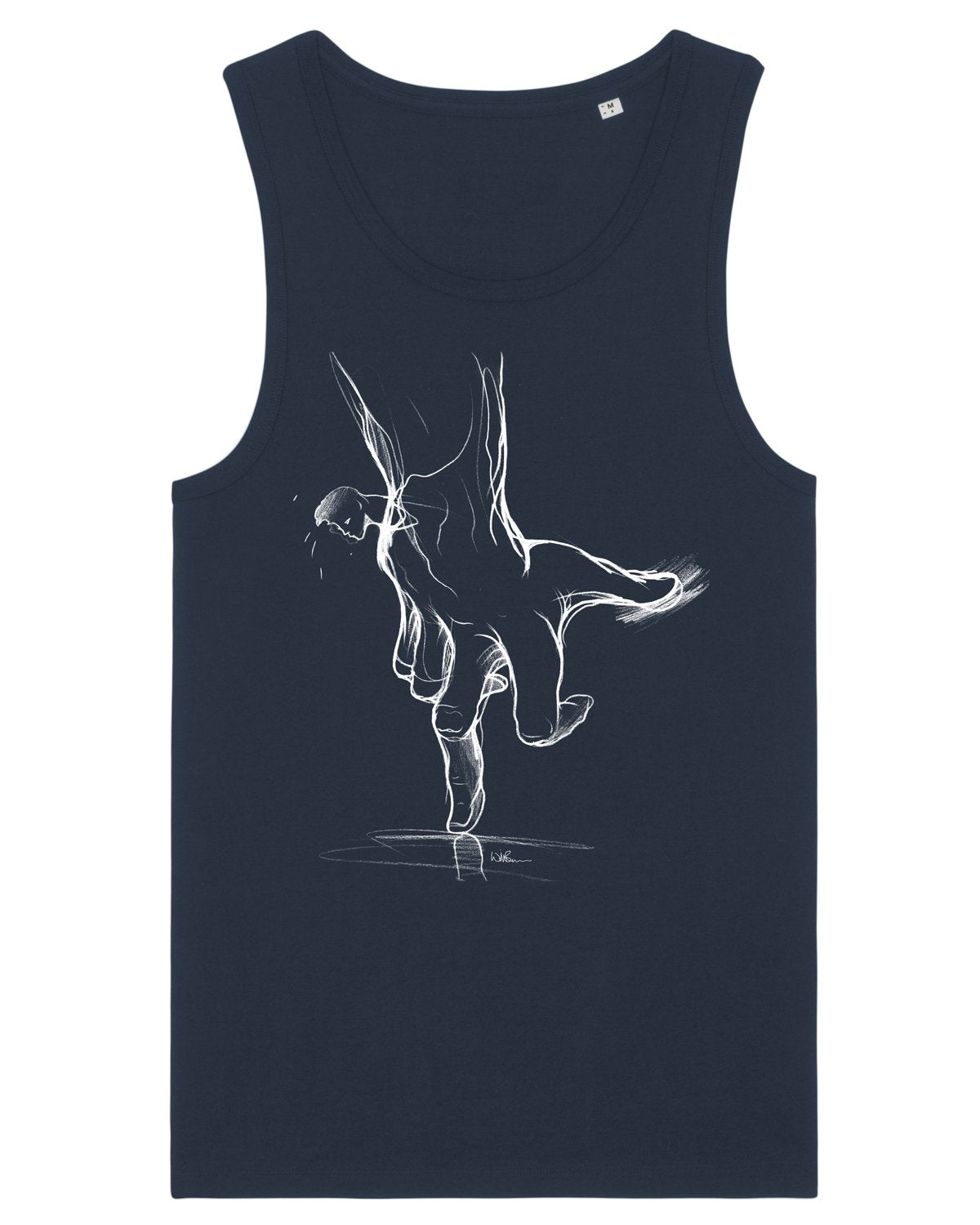 Will Barras 'Trust Hand' Mens Vest