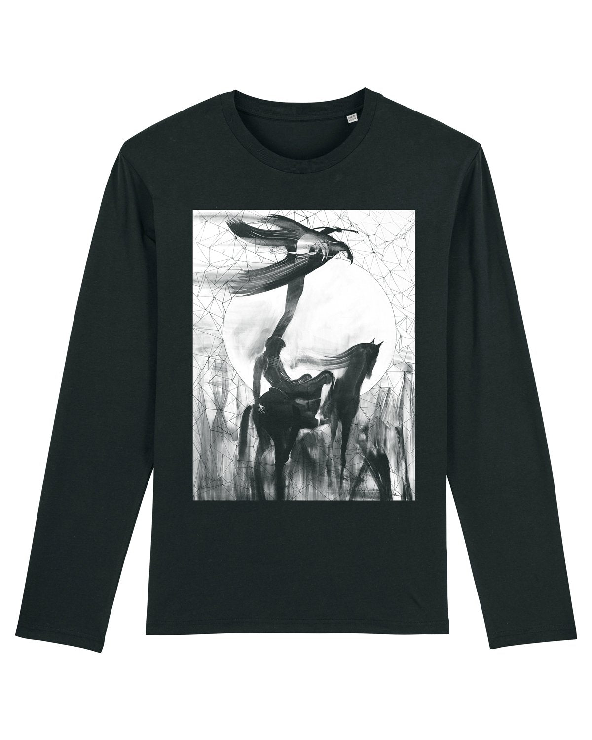 Will Barras 'Celestial finger' Long Sleeve T-Shirt