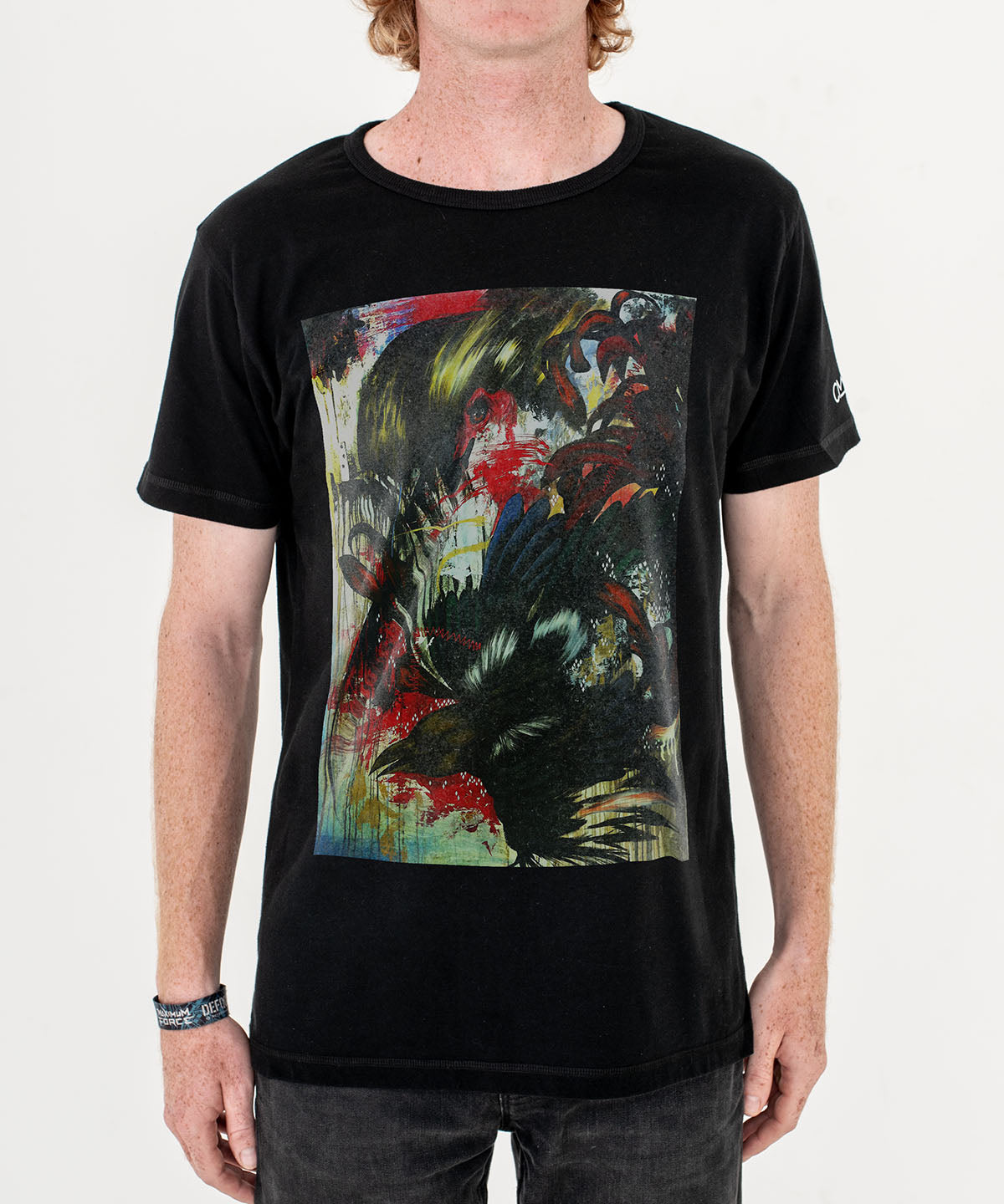 Mateus Bailon Inextinguishable Memories T-Shirt Black