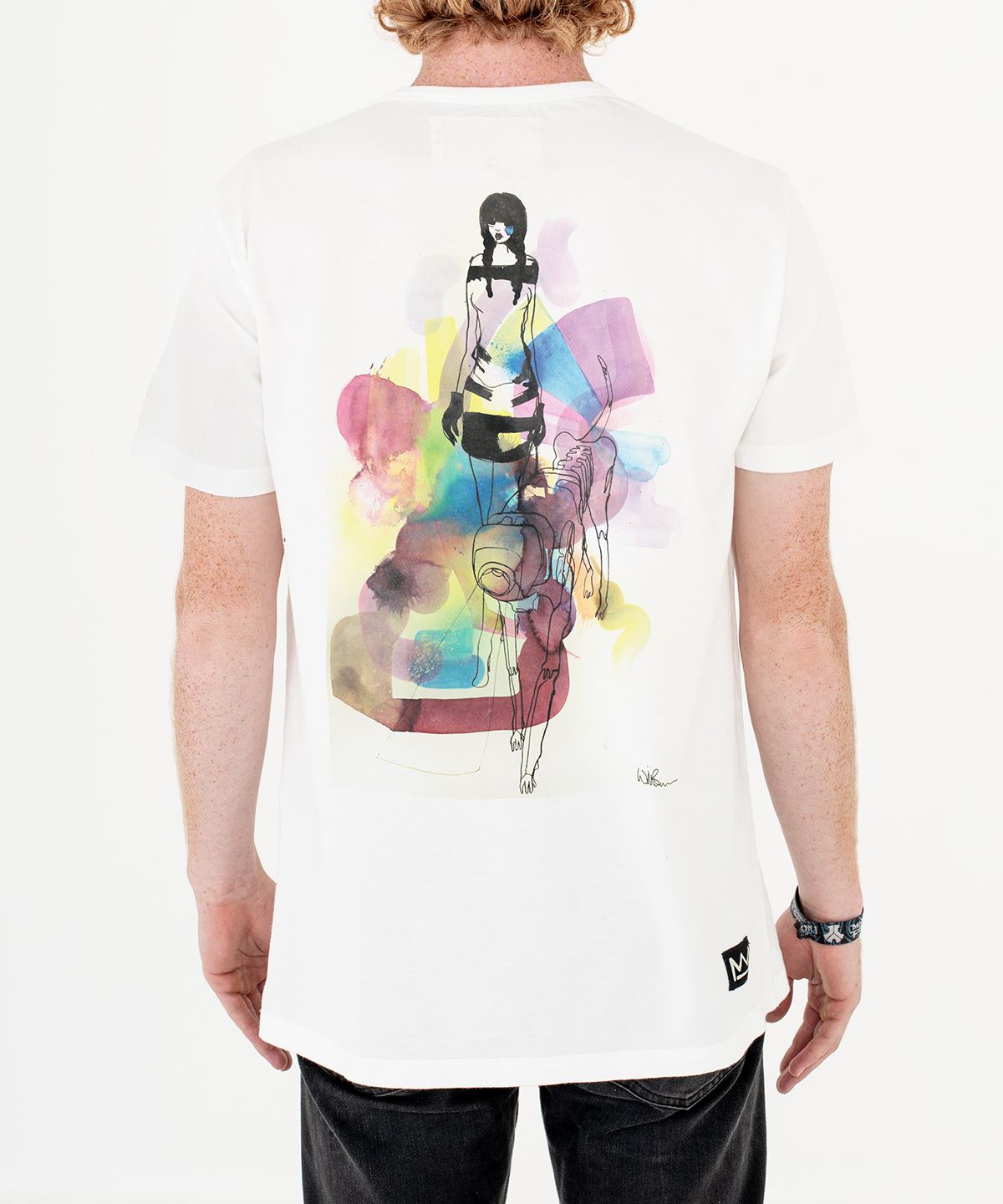 Will Barras 'Darpa Dog' T-Shirt