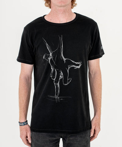 Will Barras 'Trust Hand' T-Shirt