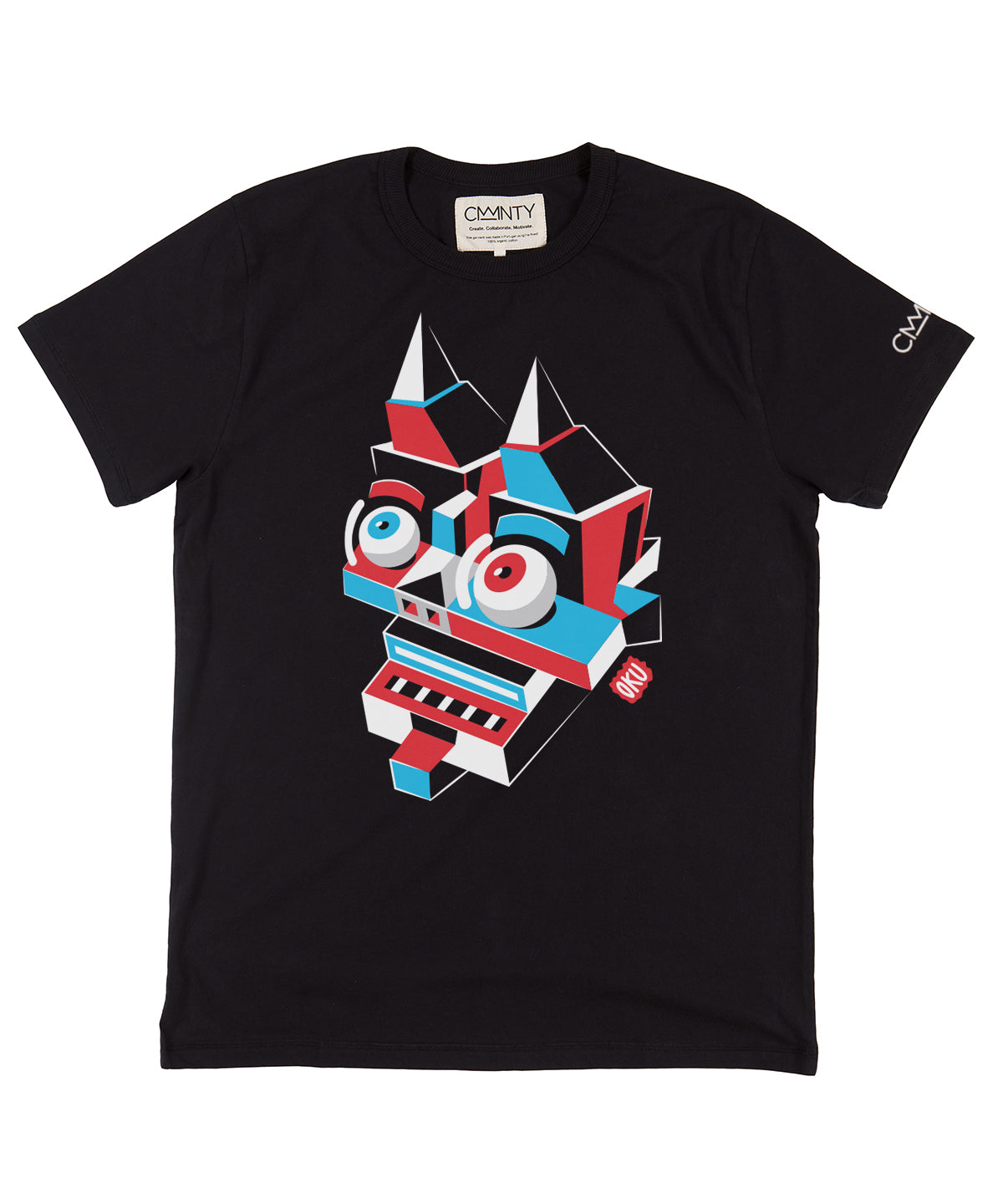 David Oku 'Devil Head' T-Shirt Black