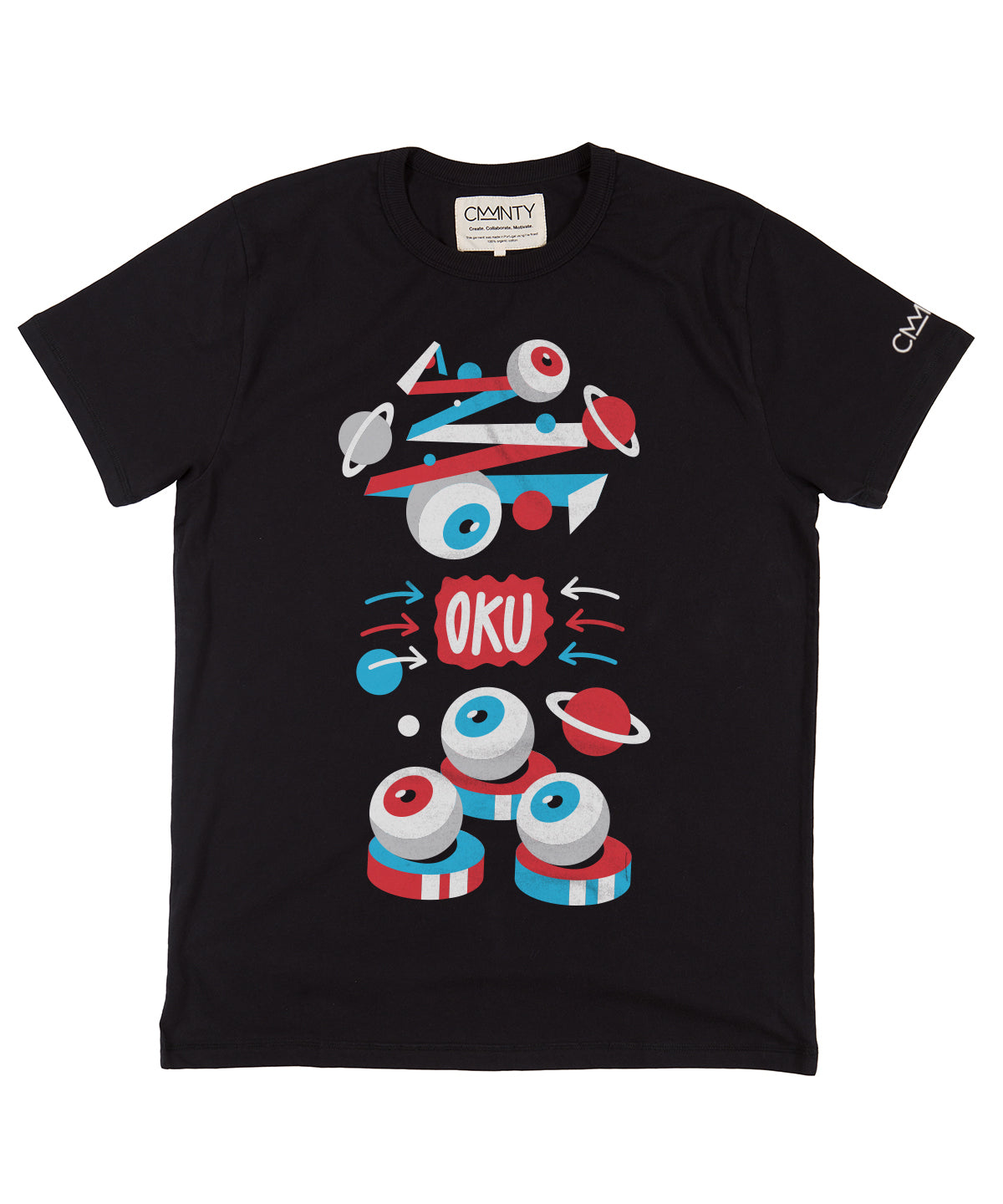 David Oku 'Magic' T-Shirt Black