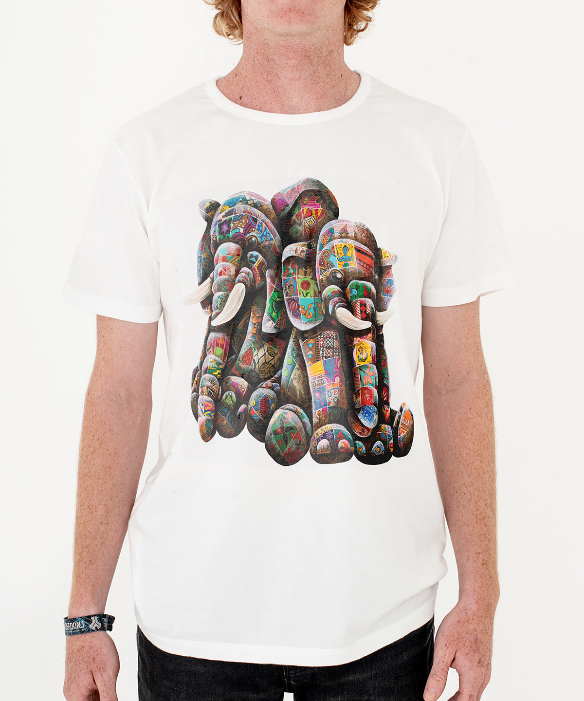 Louis Masai Elephant T-shirt