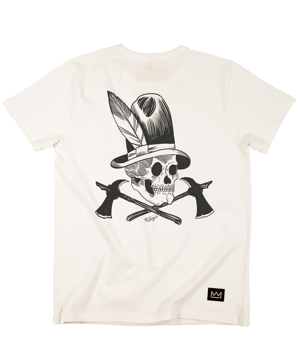 Mr Incognito 'Big Tom' T-shirt White