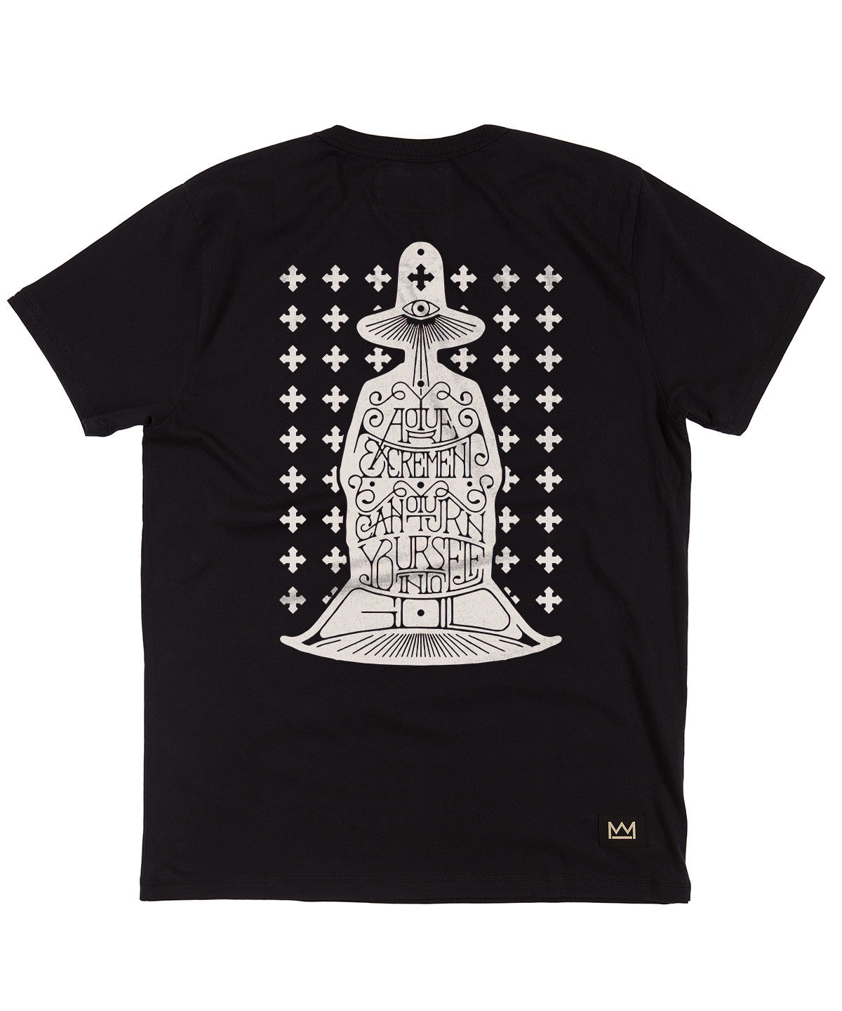 Daren Newman 'Holy Mountain' T-Shirt Black