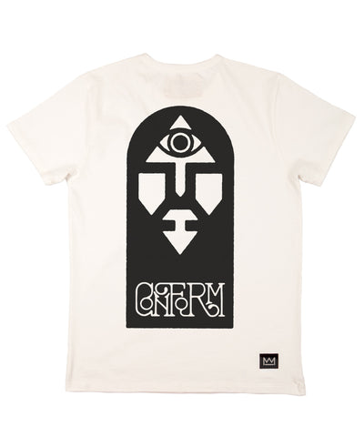 Daren Newman 'Mind Fuckers Conform' T-Shirt White