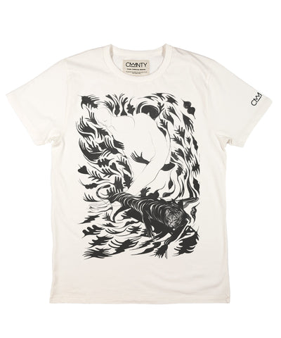 Will Barras 'Tiger Hand' T-shirt