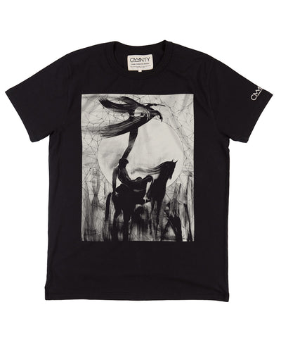 Will Barras 'Celestial finger' T-shirt