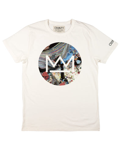 David Walker 'Macro Logo' T-shirt White
