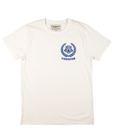 Ornamental Conifer 'Lookout' T-Shirt White