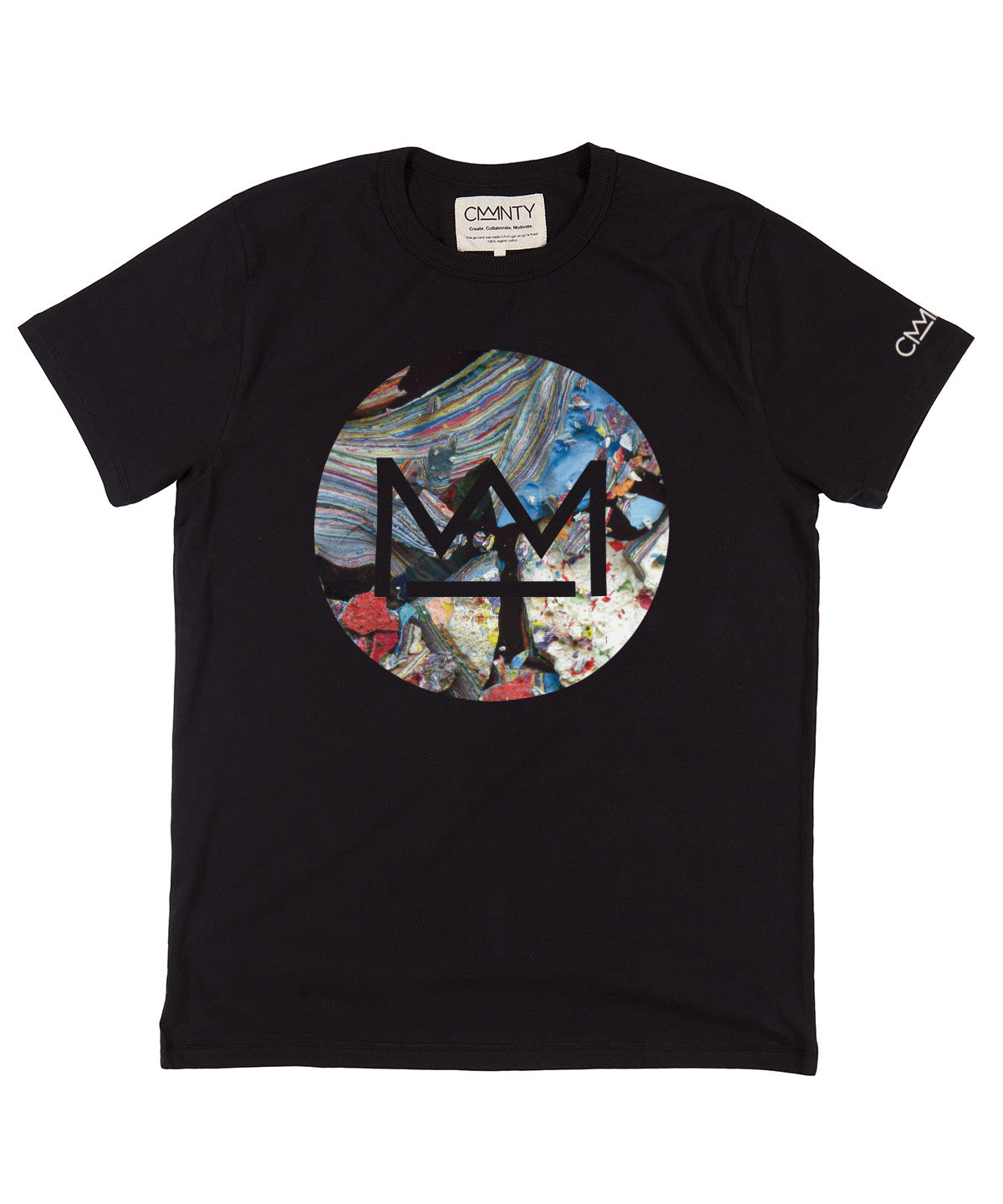 David Walker 'Macro Logo' T-shirt Black