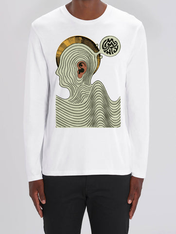 Daren Newman 'Ear Worm' Long Sleeve T-Shirt