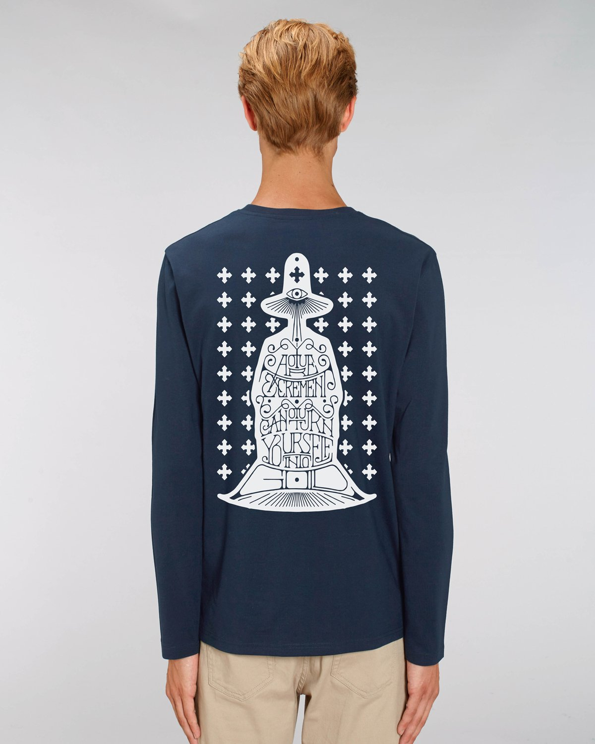Daren Newman 'Holy Mountain' Long Sleeve T-Shirt