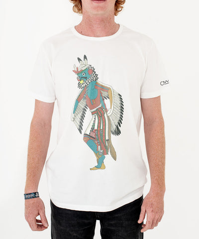 Heyoka 'Eagle Kachina' T-shirt White