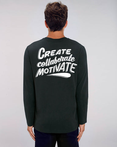 Ornamental Conifer 'Create' Long Sleeve T-Shirt
