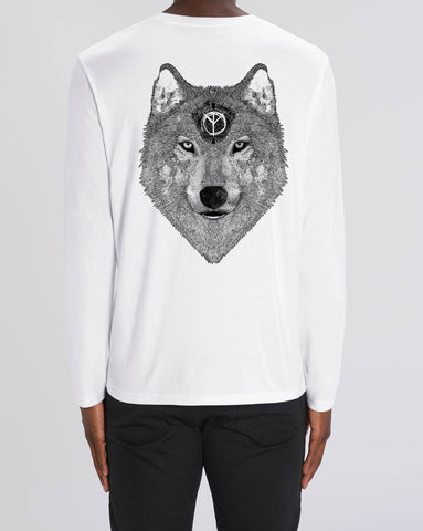Skuff 'Be A Wolf' Long Sleeve T-Shirt