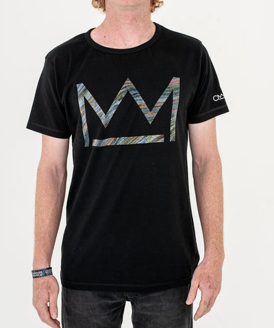 David Walker 'Micro Logo' T-shirt Black