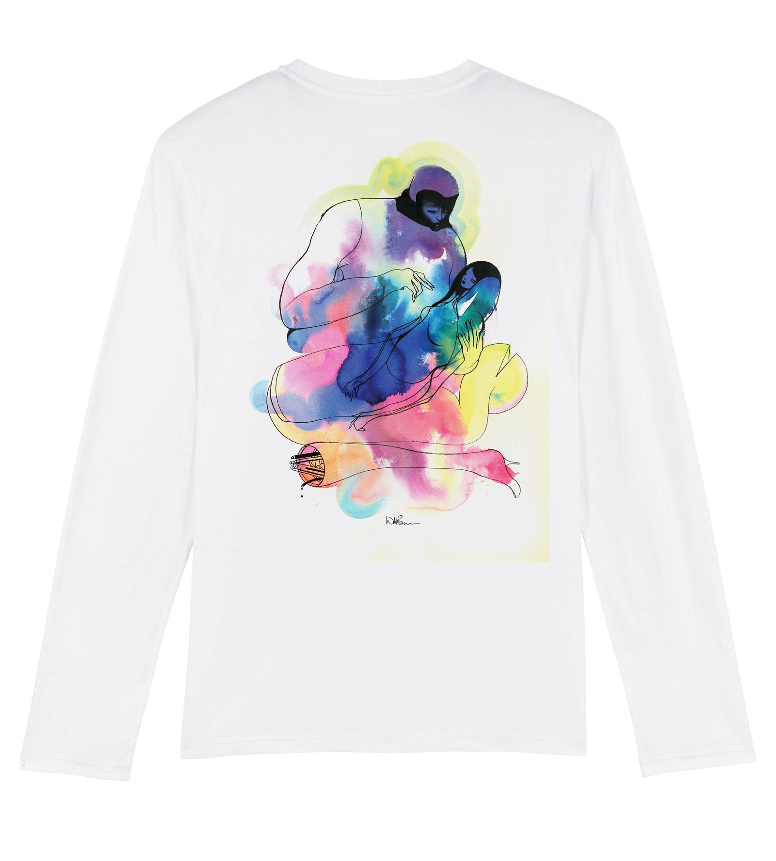 Will Barras 'Repair Work' Long Sleeve T-Shirt
