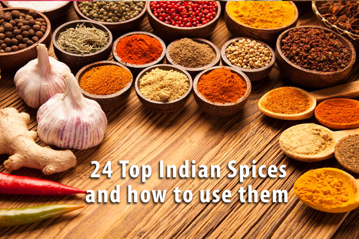 24 Top Indian Spices