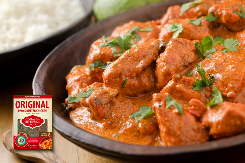 Master Indian Original 1950s Butter Chicken Recipe