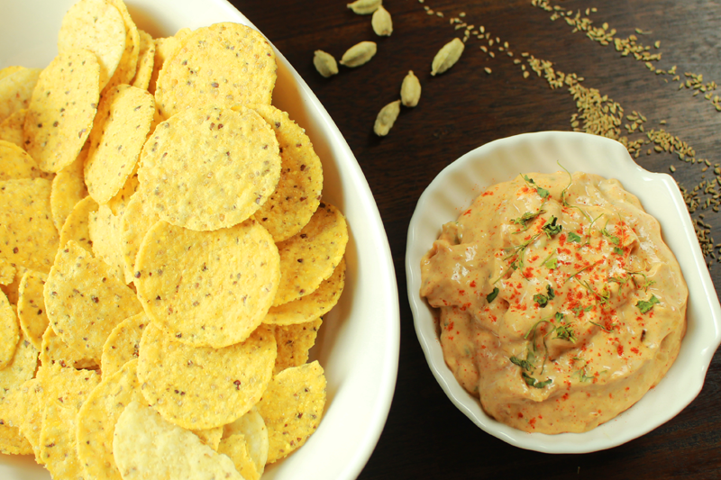 Indian Spiced Onion Dip