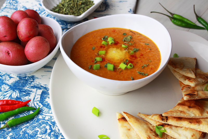 West Indian Spiced Squash Soup