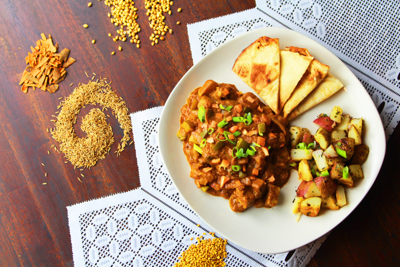 North Indian Tempeh Curry Recipe