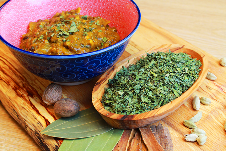 fenugreek leaves - kasoori methi