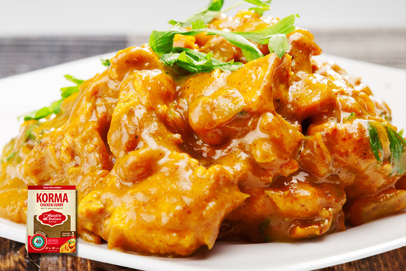 Master Indian Luxurious Chicken Korma Recipe
