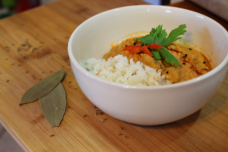 Punjabi Style Vegan Chickpea Curry