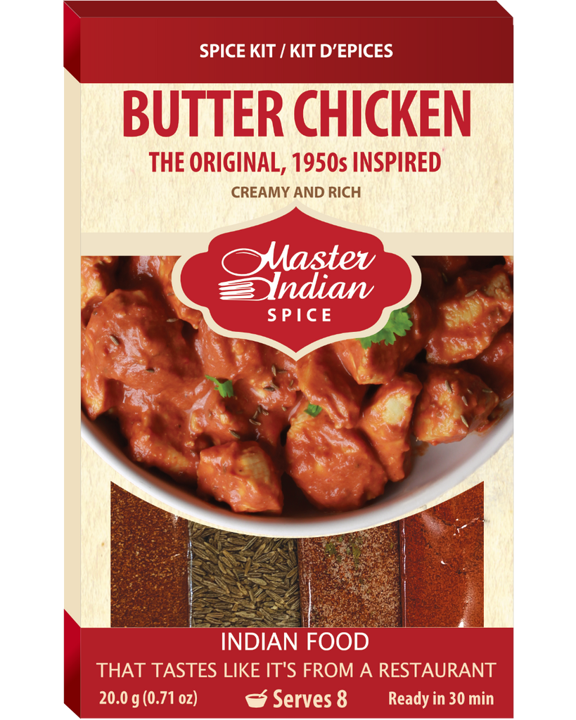 Butter Chicken 1950's Inspired