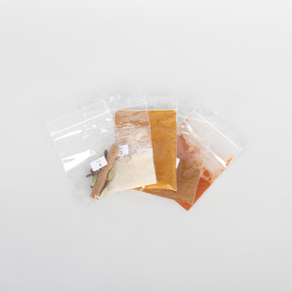 Patiala Chicken Curry Spice Kit Contents