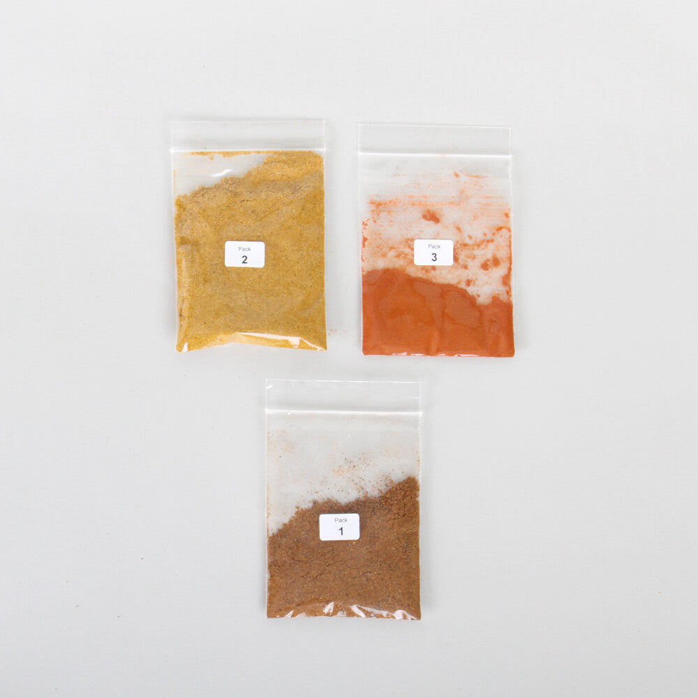 Shrimp Korma Curry Spice Kit Contents