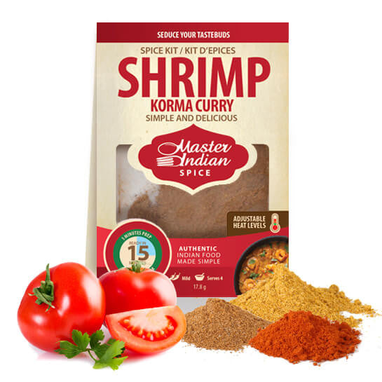 Shrimp Korma Curry Spice Kit