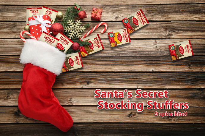 Santa's Secret Stocking Stuffers-9 Spice kits