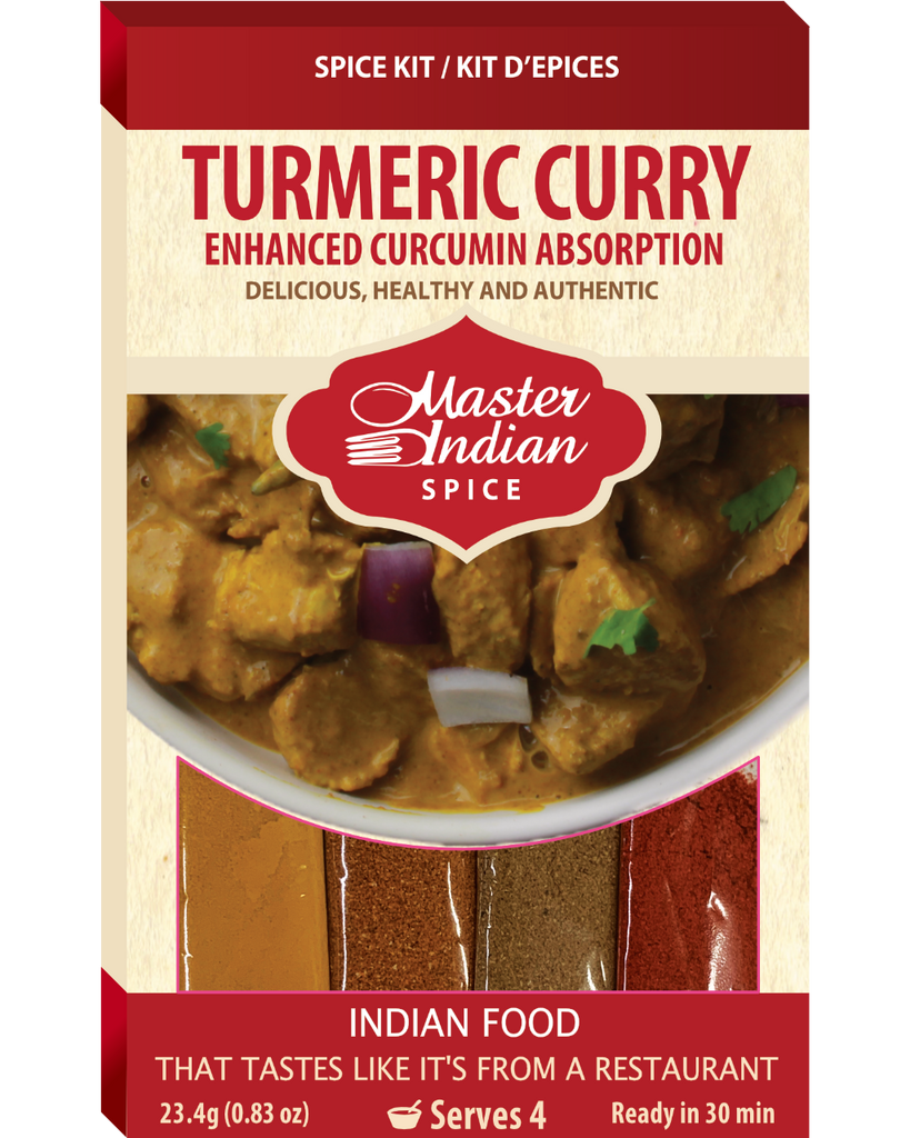 Turmeric Curry (200 Packages left, will be discountinued once sold)