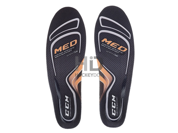CCM Custom Support Insole - MED - (Orange)