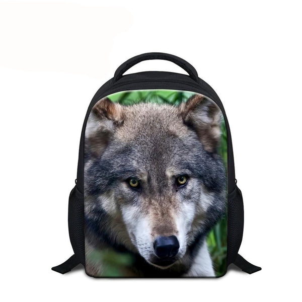 Backpack for Kids (Animal Print) - Indo Wolf