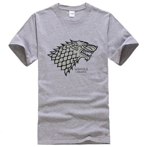 Game of Thrones Wolf T-shirt Stark Winterfell - Indo Wolf