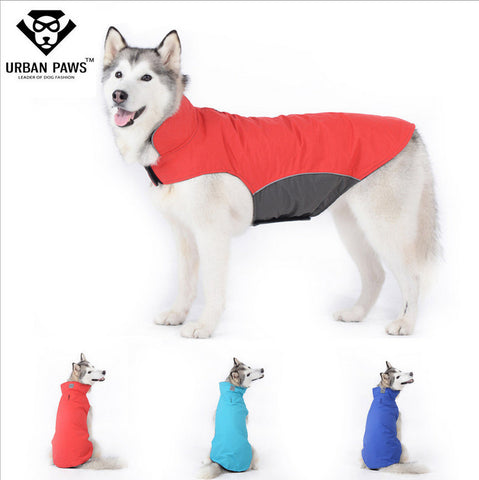 Dog Coat - Quality Large Dog Clothes Waterproof Winter Outdoor Coat