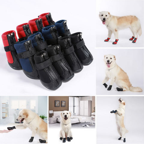 Dogs - Waterproof Non-slip Dog Winter Boots